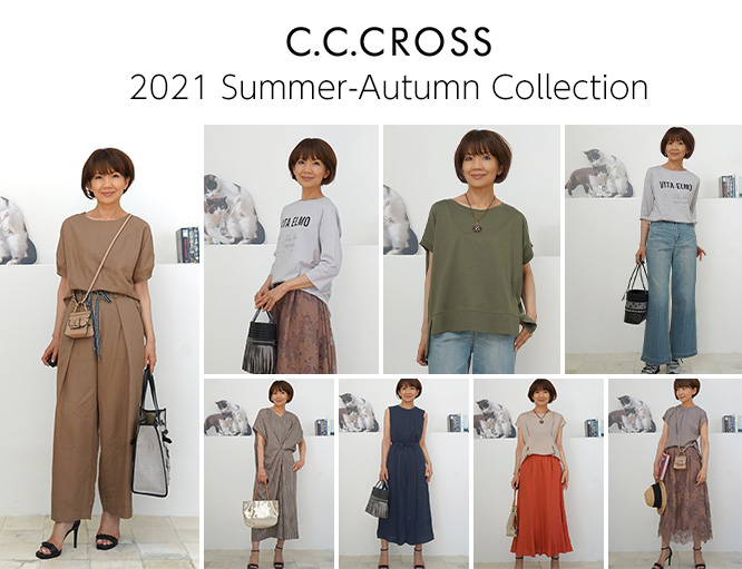 C.C.CROSS 2021 Summer - Autumn Collection